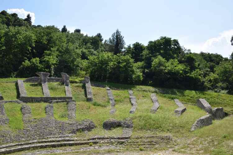 il teatro romano di ascoli