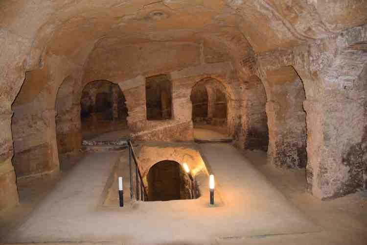 grotta ricotti nelle grotte di camerano