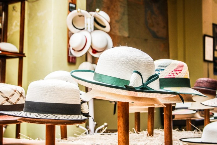 cappelli panama al museo del sombrero di cuenca