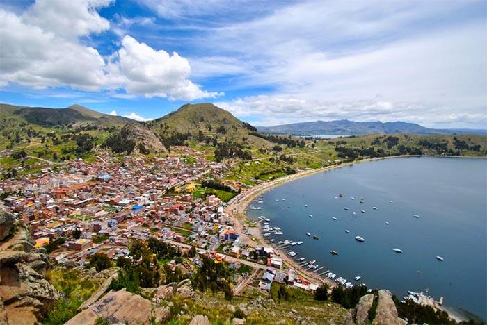 copacabana punto di partenza per la isla del sol
