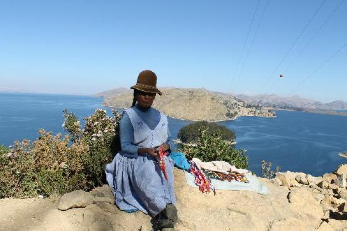 indigena sulla isla del sol