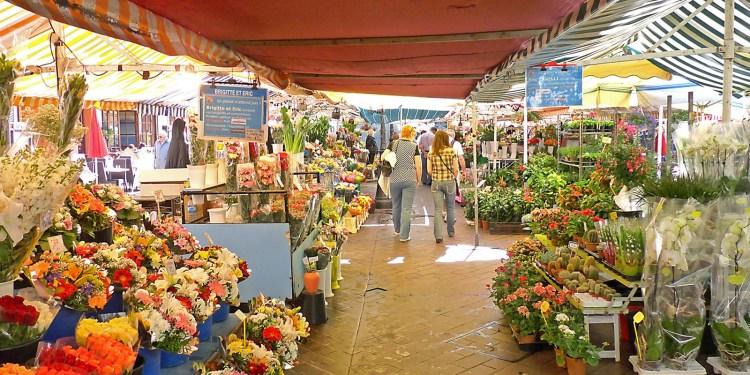 un week-end a nizza per visitare il marché aux pleurs cours saleya