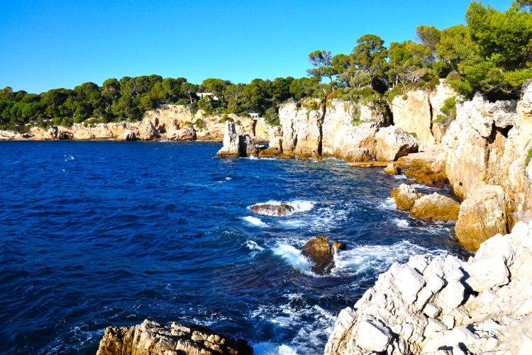 cap d'Antibes sulla strada da Antibes a Cannes