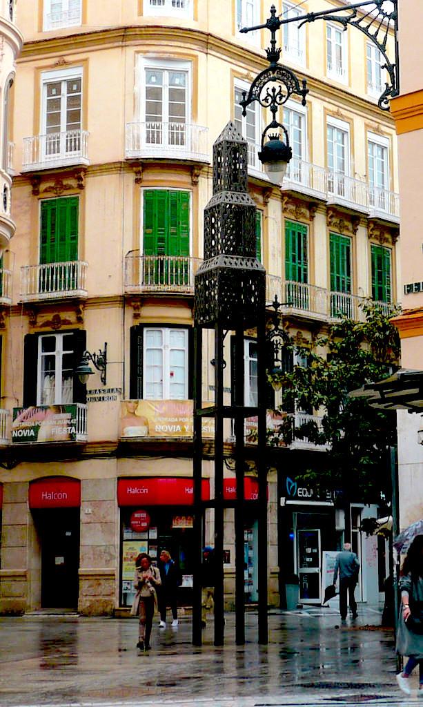 la scultura Casa dorada para pájaros, dell' artista Jaume Plensa