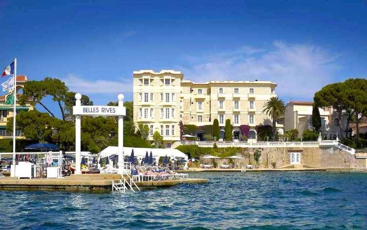 Hotel Belles Rives a Juan-les-Pins, da Antibes a Cannes