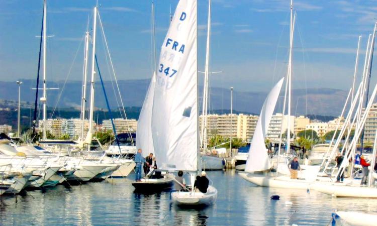 il Port Gallice a metà strada da Antibes a Cannes