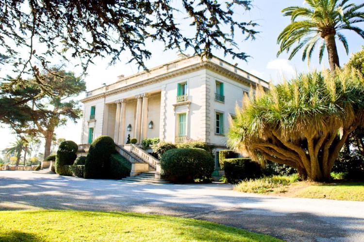villa Eilenroc, a Cap d'Antibes, da Antibes a Cannes