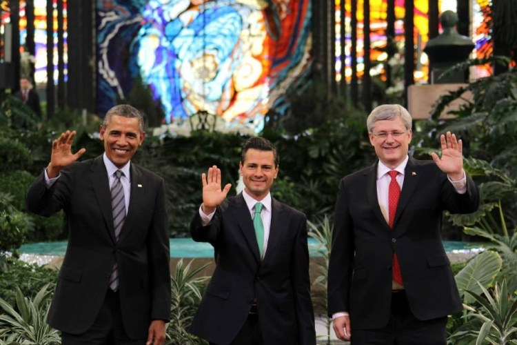 Barack Obama in visita al Cosmovitral