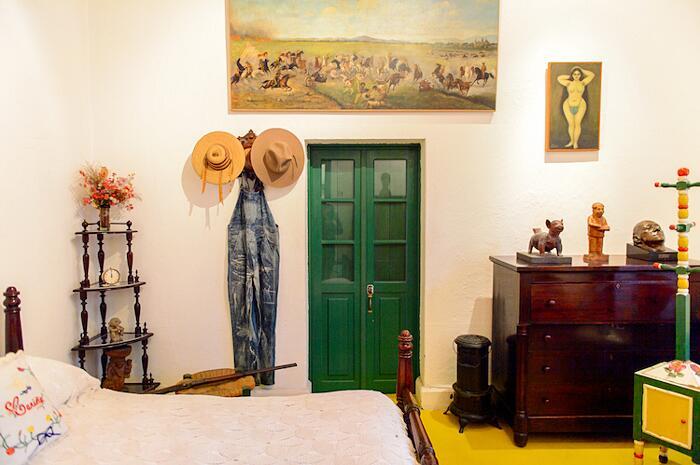 camera da letto di Frida nel Museo Frida Kalho
