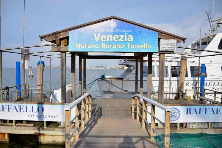 Da Chioggia a Venezia Murano Burano Torcello in motonave