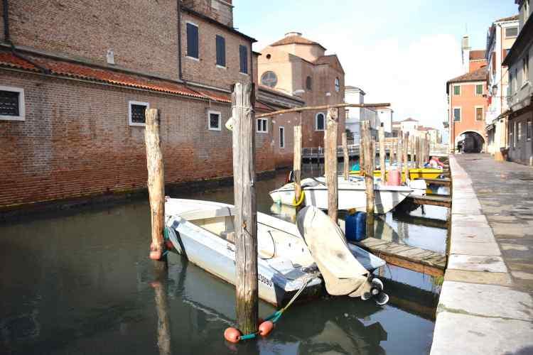 Il Canale Vena nel centro storico di Chioggia