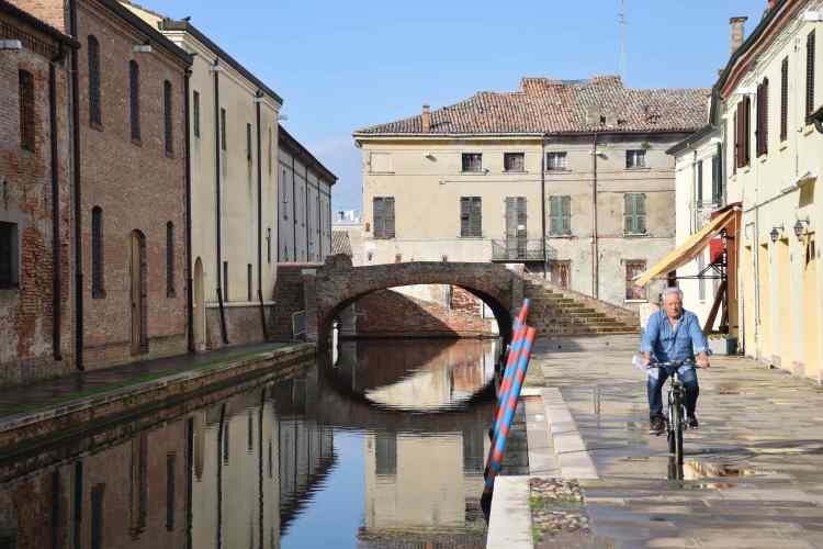 i canali di Comacchio la Piccola Venezia