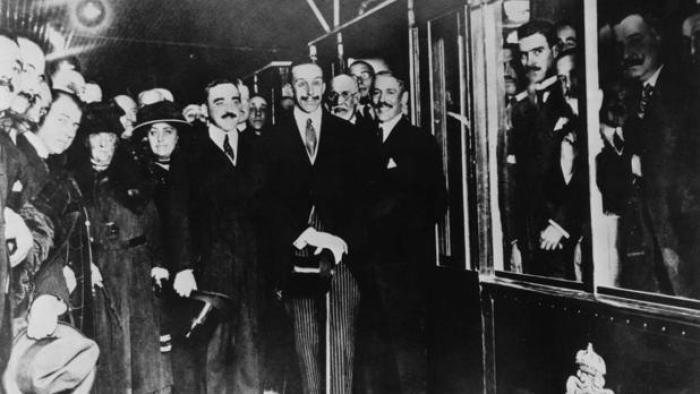 alfonso III inaugura Metro Madrid