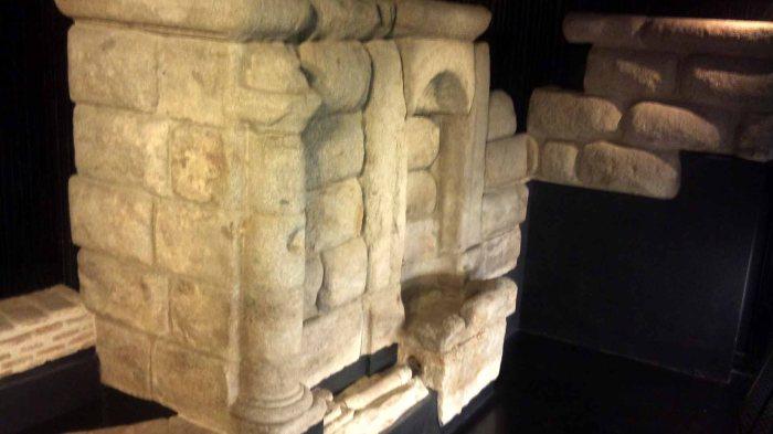 i resti de los caños del peral nella stazione di opera della metro madrid