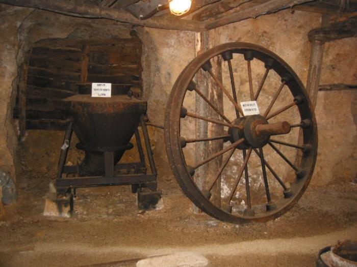 Gli ambienti del Museo della Miniera di Massa Marittima