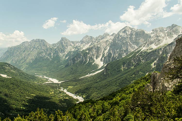 trekking da theth a valbona nelle Alpi albanesi