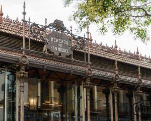 l'edificio del Mercado de San Miguel