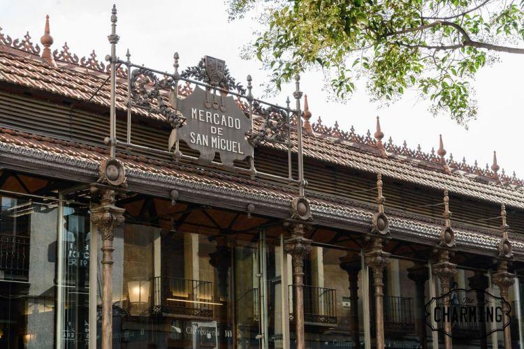 edificio Mercado de San Miguel madrid spagna