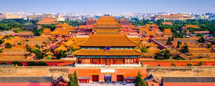 La maestosa Città Proibita di Pechino