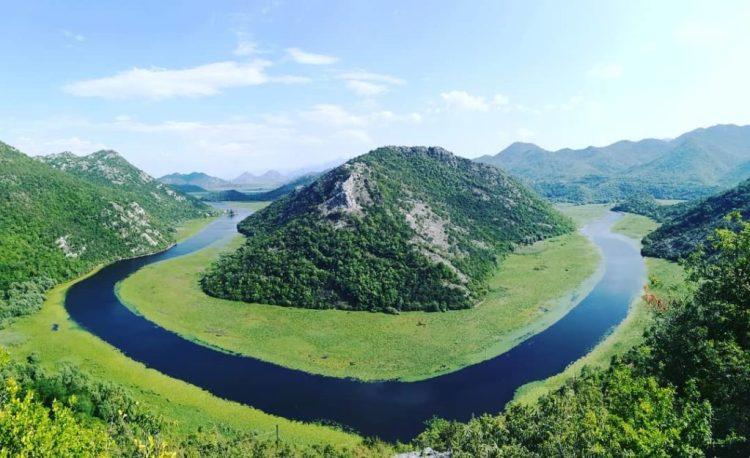 la natura del Lago di Scutari