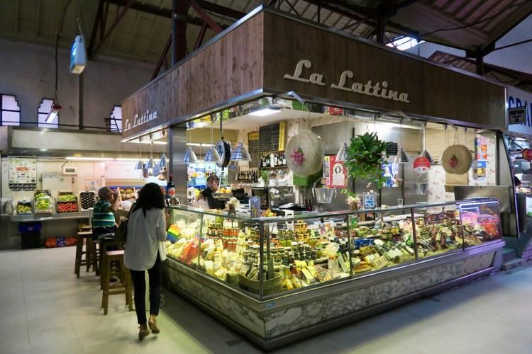 mangiare a Madrid al Mercado Tirso de Molina