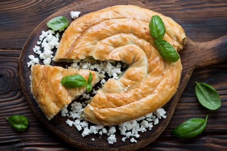 il byrek piatto della cucina tradizionale albanese