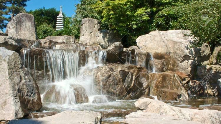 il giardino giapponese nello seepark di friburgo