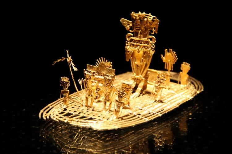 Il pezzo più importante esposto al Museo del Oro di Bogotá