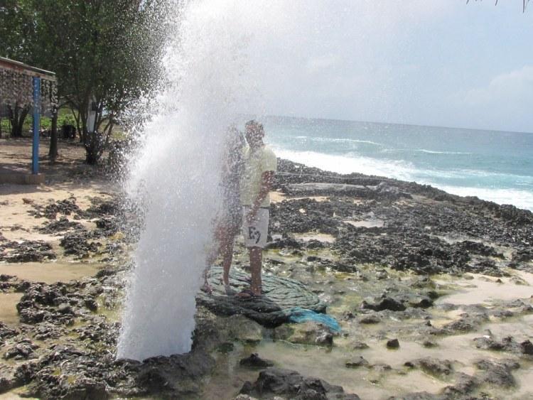El Hojo Soplador sull'isola di San Andrés