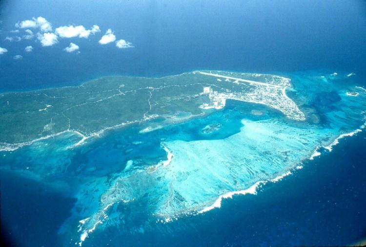 Vista aerea di San Andrés