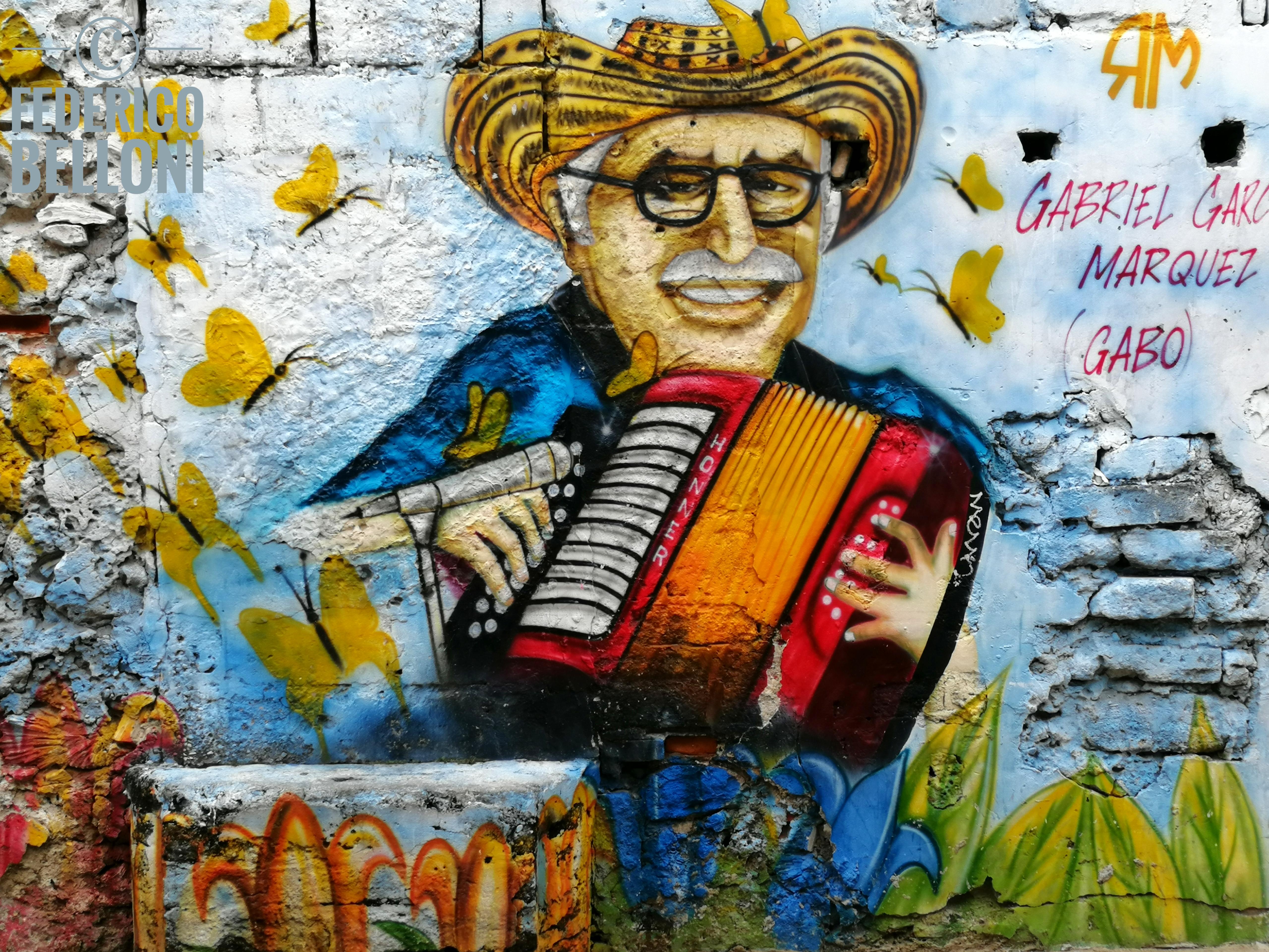 murales quartiere getsemaní