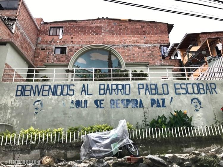 Il Barrio Escobar a Medellin