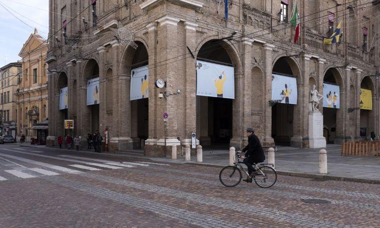 le vie del centro storico di Parma