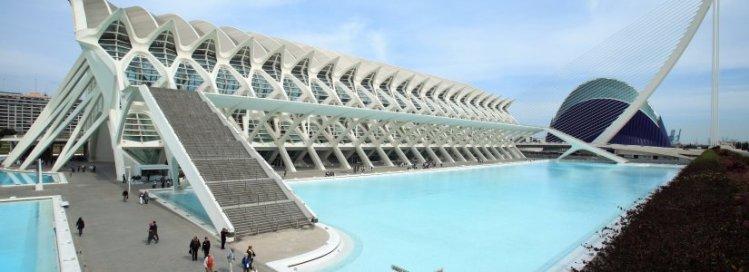 El Museo de las Ciencias nella Ciudad de las Artes y las Ciencias di Valencia