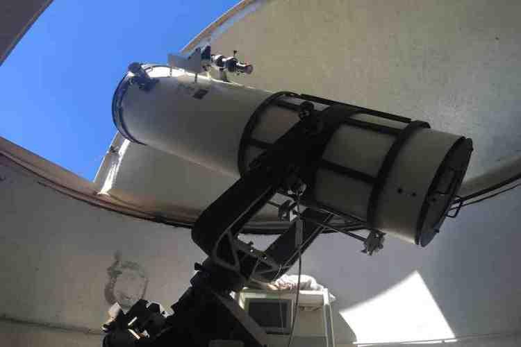 il telescopio dell'osservatorio cassini di perinaldo