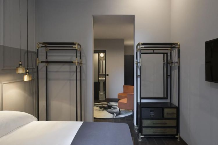 una suite dell'hotel chapter roma