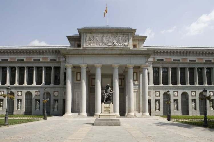 Il palacio villanueva sede del prado di madrid