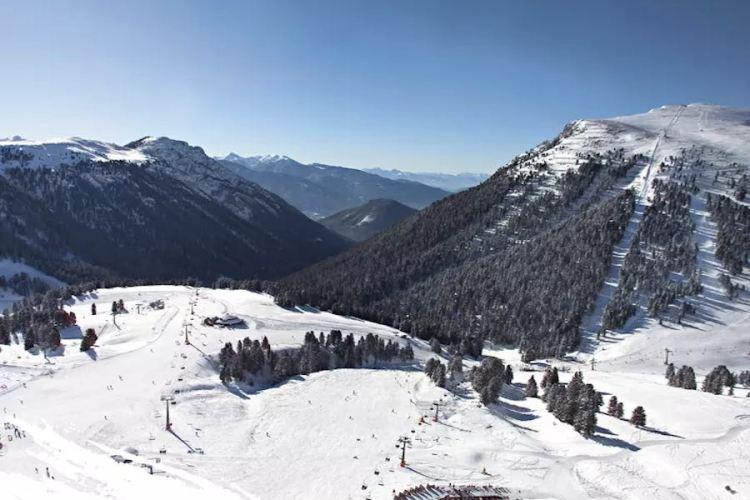 il comprensorio di obereggen da sciare con lo skipass dolomiti superski
