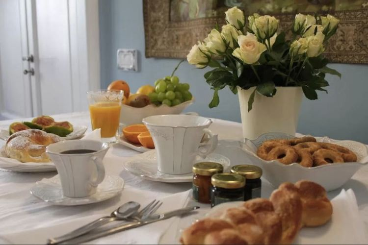 il breakfast del b&b via dell'astrologo a cosenza