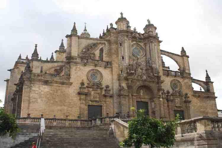 cattedrale di jerez de la frontera andalucía spagna