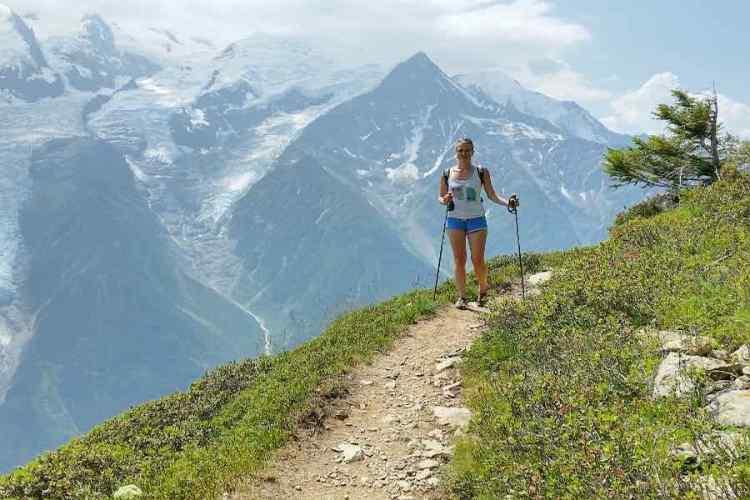 trekking a chamonix