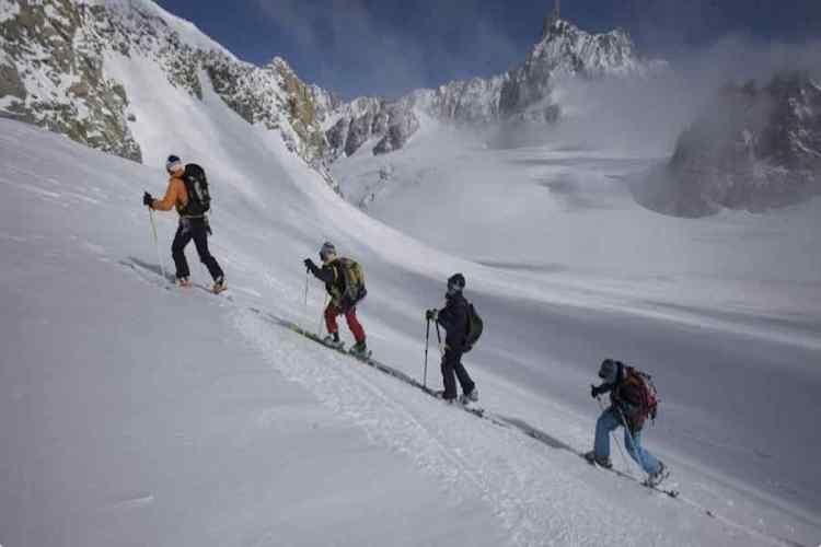 sci alpinismo a courmayeur