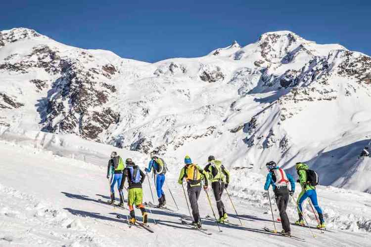 sci alpinismo a gressoney