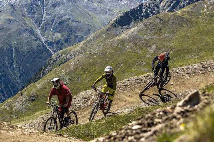 mountain bike a livigno
