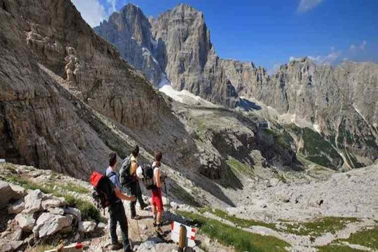 madonna di campiglio trekking