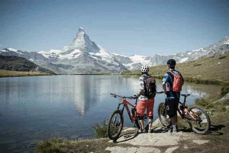 mountain bike a zermatt