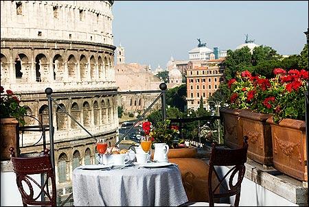 Cinque terrazze di lusso a Roma  Viaggiamo