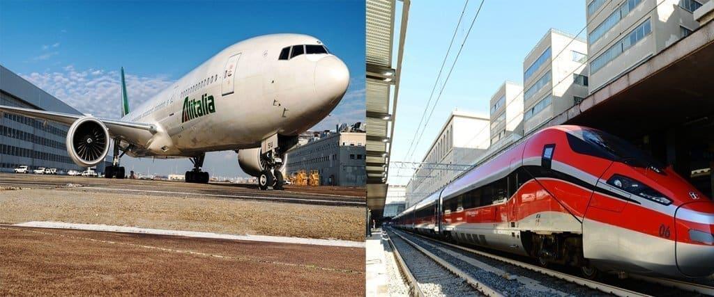 Treno-Aereo-1024x427 Ferrovie dello Stato atterra su Alitalia