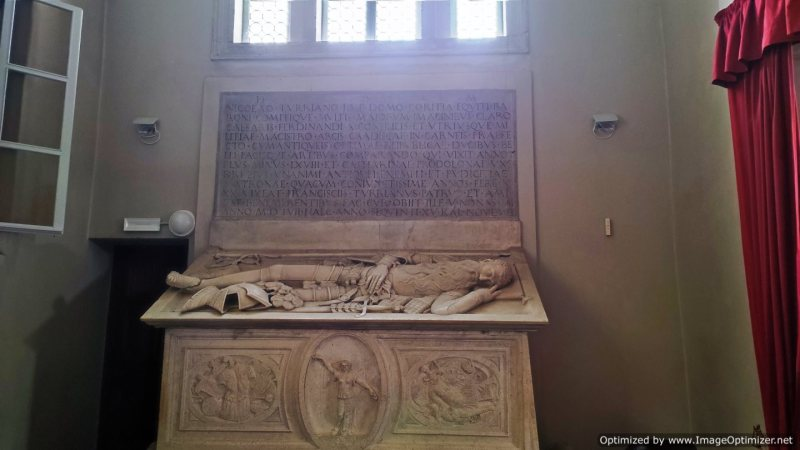 Sepolcro del Conte Niccolò II Della Torre