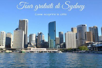 Tour gratuiti di Sydney, come scoprire la città